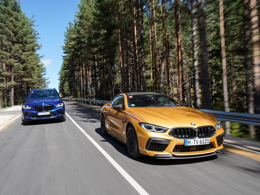 <p>М8 Competition/BMW M Drive Tour галерия</p>