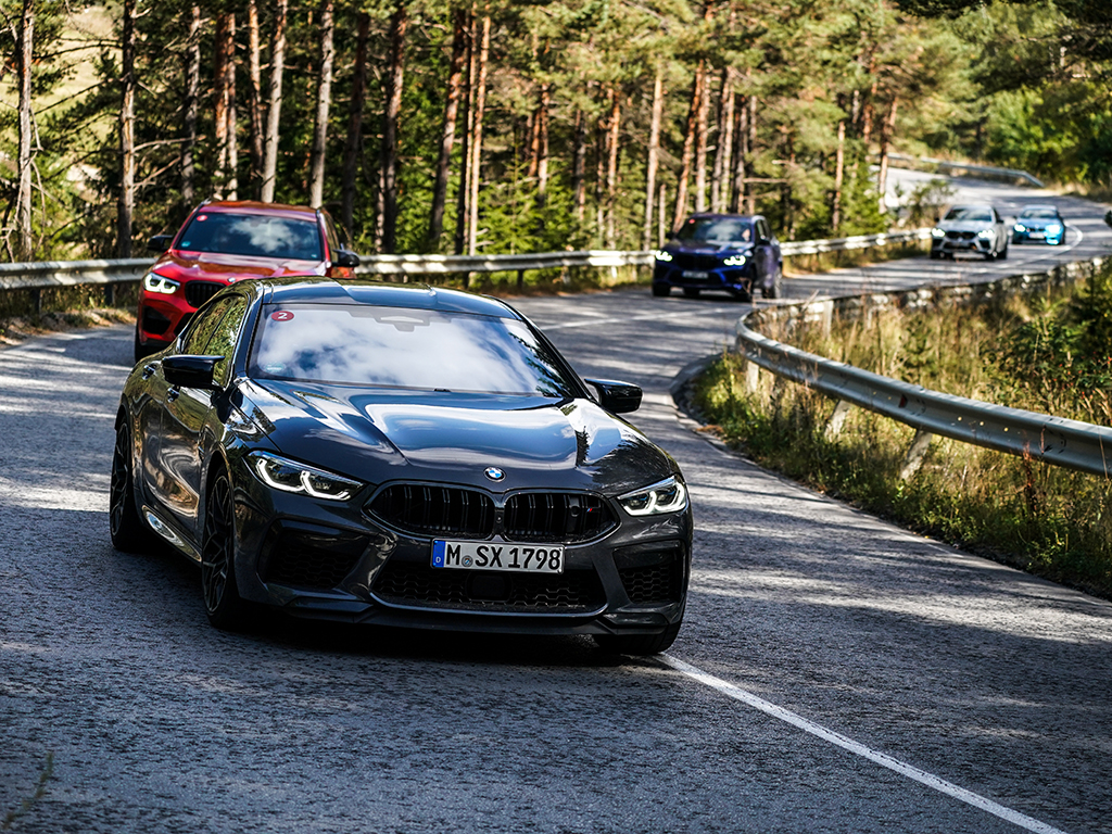 <p>M8 Competition Гран Купе/BMW M Drive Tour галерия</p>