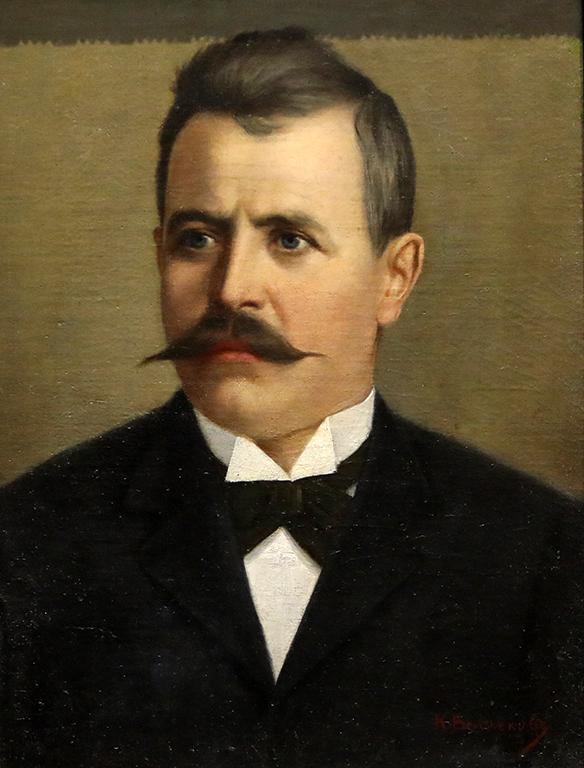 <p>Константин Величков, Портрет</p>