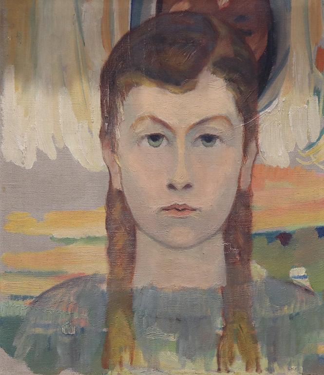 <p>Владимир Димитров - Майстора, Портрет на момиче</p>