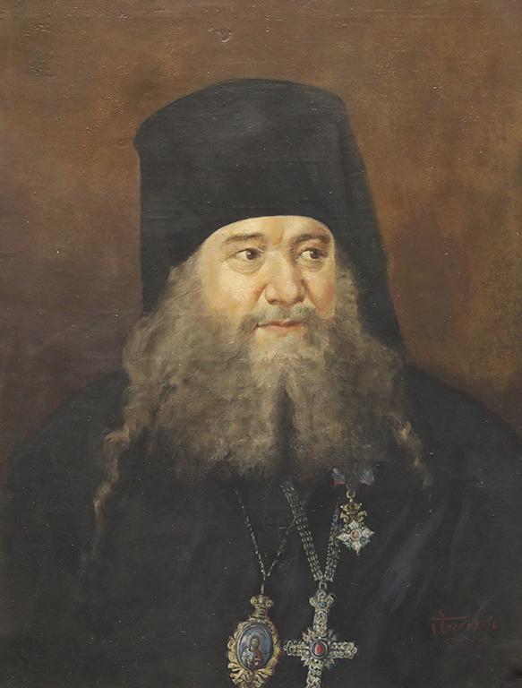 <p>Георги Черкезов, Портрет на Екзарх Стефан 1931 г.</p>
