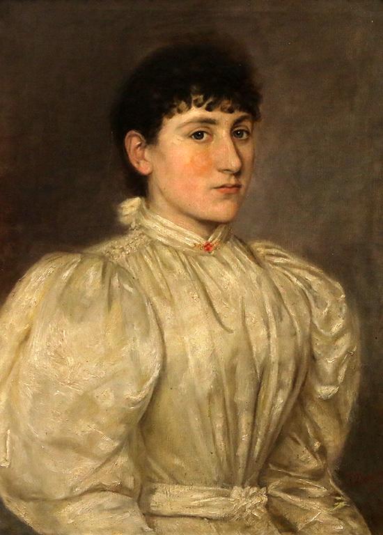<p>Георги Данчов-Зографина, Сестрата на Поликсения-съпругата на Стефан Стамболов 1894 г.</p>