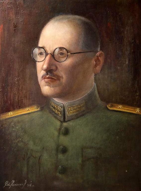 <p>Стоян Рангелов, Портрет 1946 г.</p>
