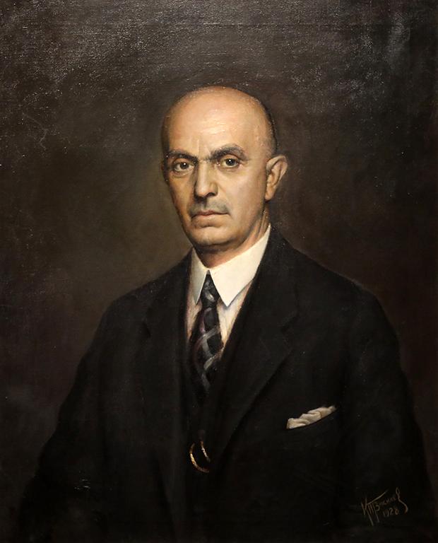 <p>Кирил П. Василев, Портрет 1928 г.</p>
