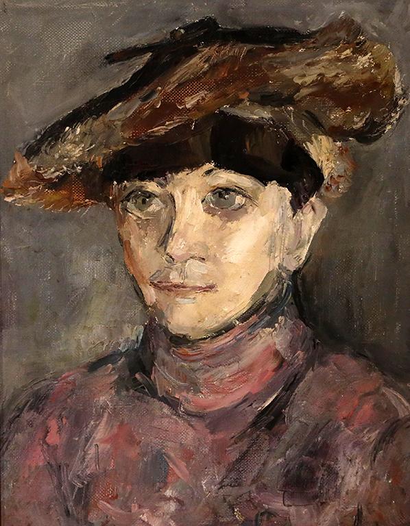 <p>Михаил Бешев, Женски портрет, 2005 г.</p>