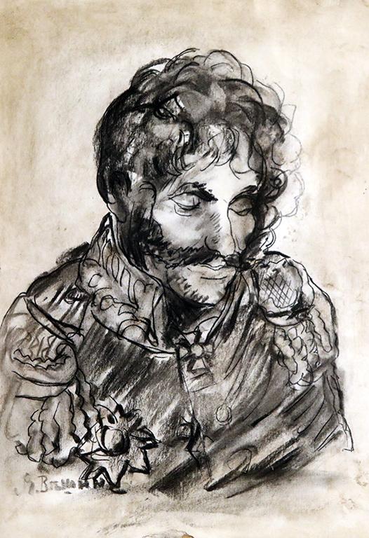 <p>Ярослав Вешин, Мъжки портрет</p>