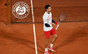 Новак Джокович е на 1/2-финал на Ролан Гарос след обрат над испанец