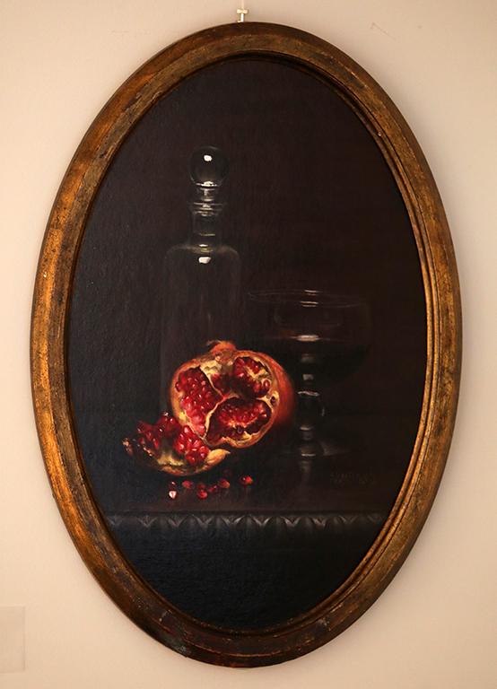 <p>Нар, маслени бои/платно Pomegranate, oil paint on canvas</p>