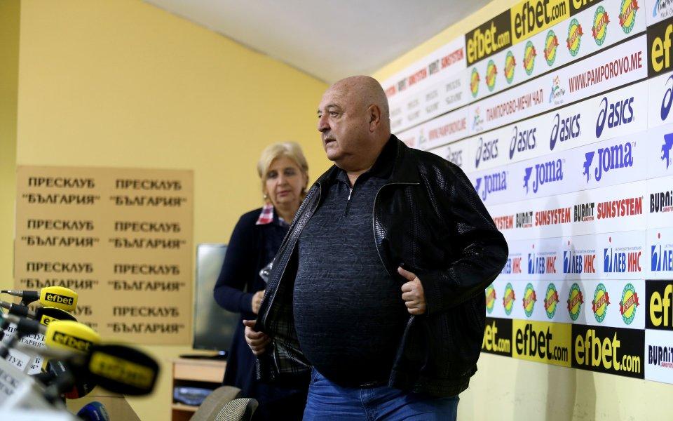 Президентът на Славия - Венци Стефанов, посочи трима талантливи футболисти,