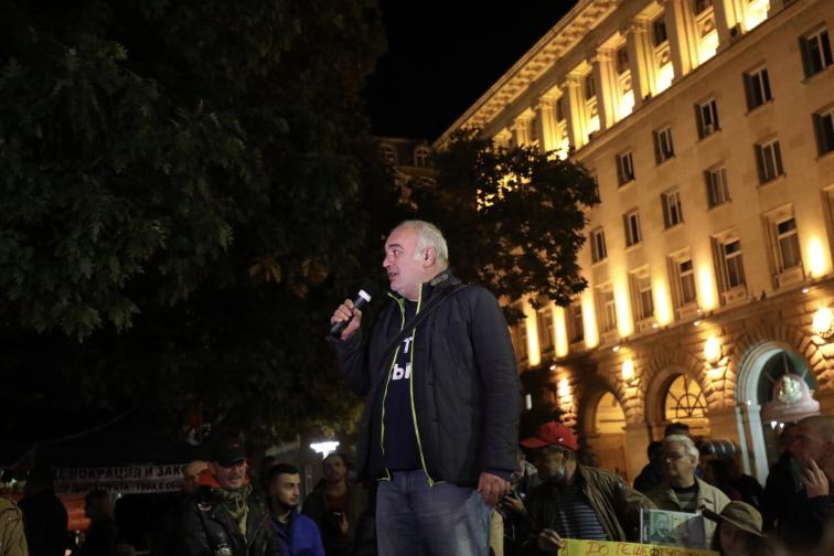99 вечери на антиправителствени протести