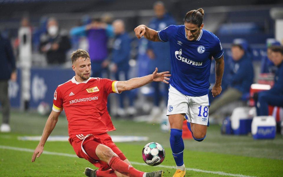 Шалке 04 и Унион Берлин завършиха при равенство 1:1 в