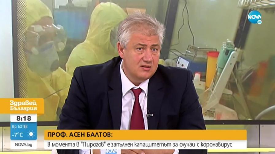 <p>Проф. Балтов: Коронавирусът е създаден с лабораторна намеса</p>