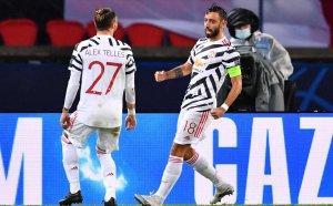 Манчестър Юнайтед излъга ПСЖ под проливния дъжд в Париж
