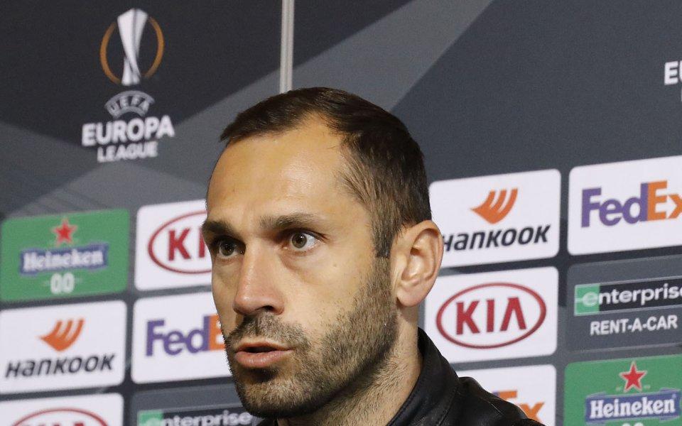 Футболистът на ЦСКА - Петър Занев, сподели очакванията си за