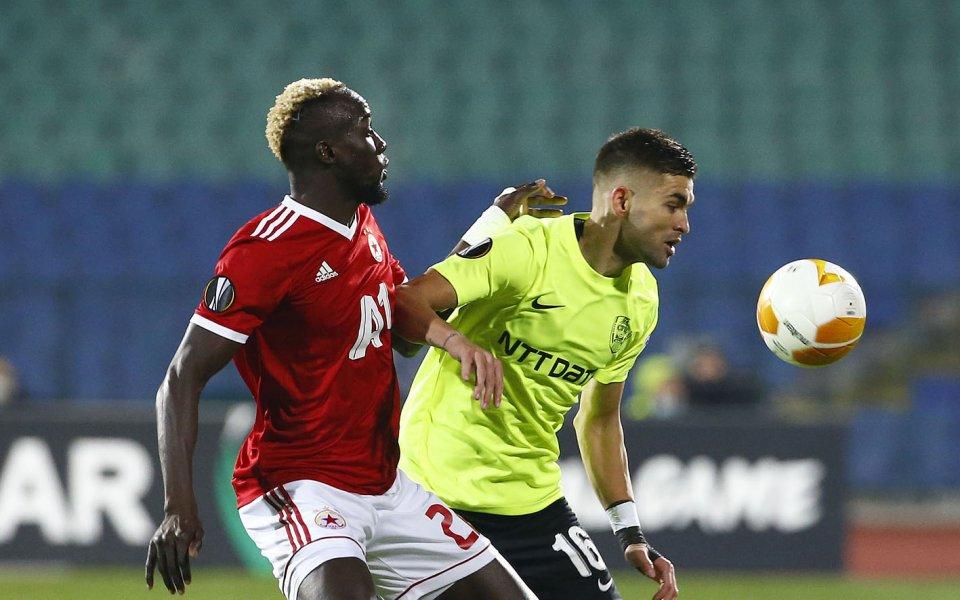 ЦСКА ще преследва първа победа срещу румънския Клуж в мача