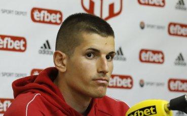Наумов: Очаквам победа срещу Славия, чакам да играя срещу Георги Петков