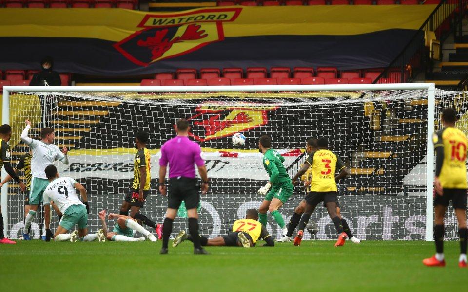 Уотфорд и Борнемут завършиха 1:1 в мач от седмия кръг