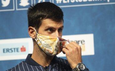 Джокович ще си гарантира първото място, ако спечели два мача във Виена