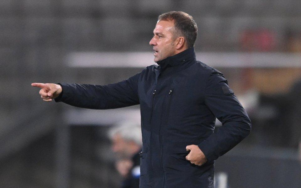Старши треньорът на Байерн (Мюнхен) Ханзи Флик похвали играта на