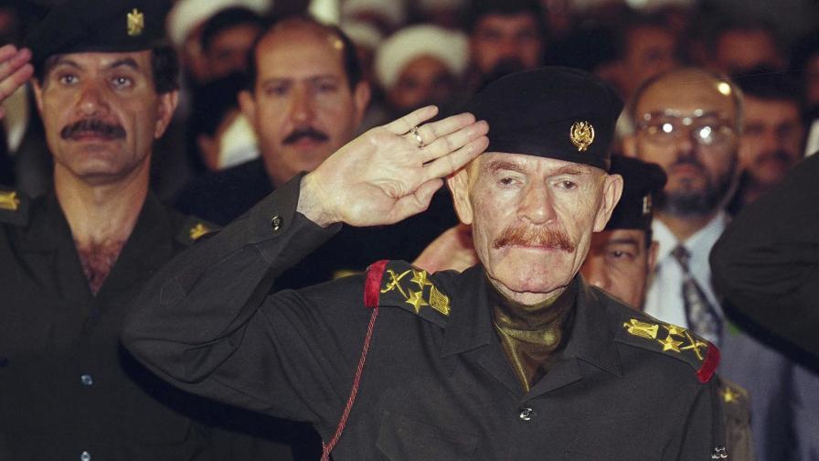 Почина вторият човек в режима на Саддам Хюсеин