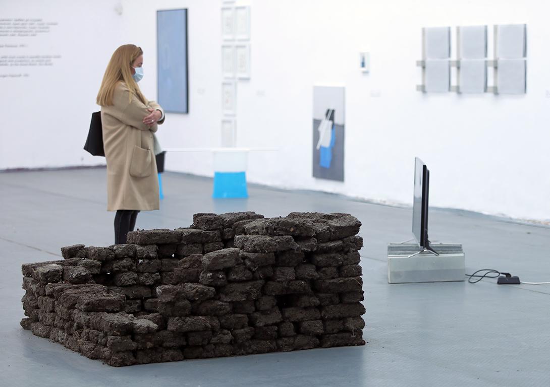 <p>В изложбата могат да бъдат видени рисунки, живописни картини, скулптури, обекти, инсталации, видеотворби, интерактивни и перформативни ситуации, но най-важното в тази изложба е това, което е най-трудно да бъде видяно, а именно възможностите за визуализиране на невидимото.</p>  <p>&nbsp;</p>
