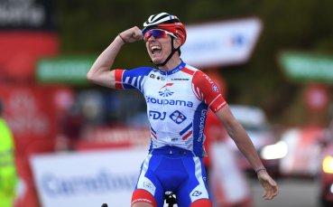 Французин взе победата в 11-ия етап от