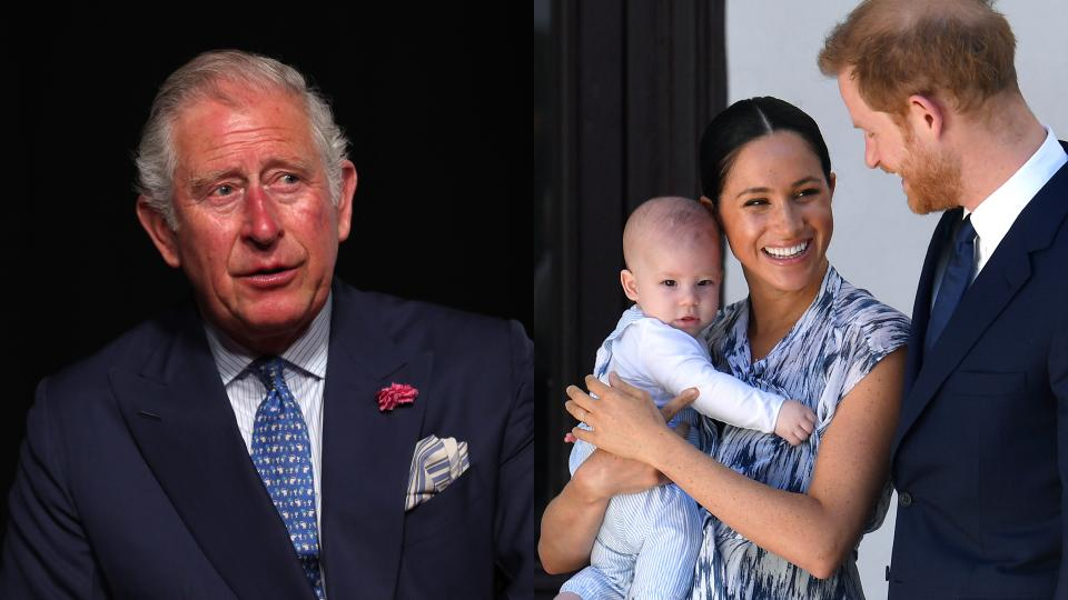 принц Чарлз Арчи Меган Маркъл принц Хари