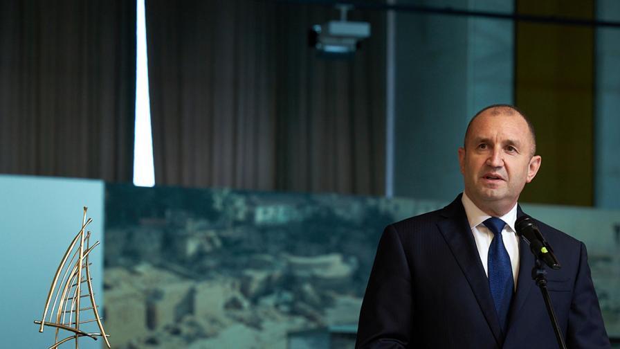 Радев: България разчита на уменията на лидерите в бизнеса
