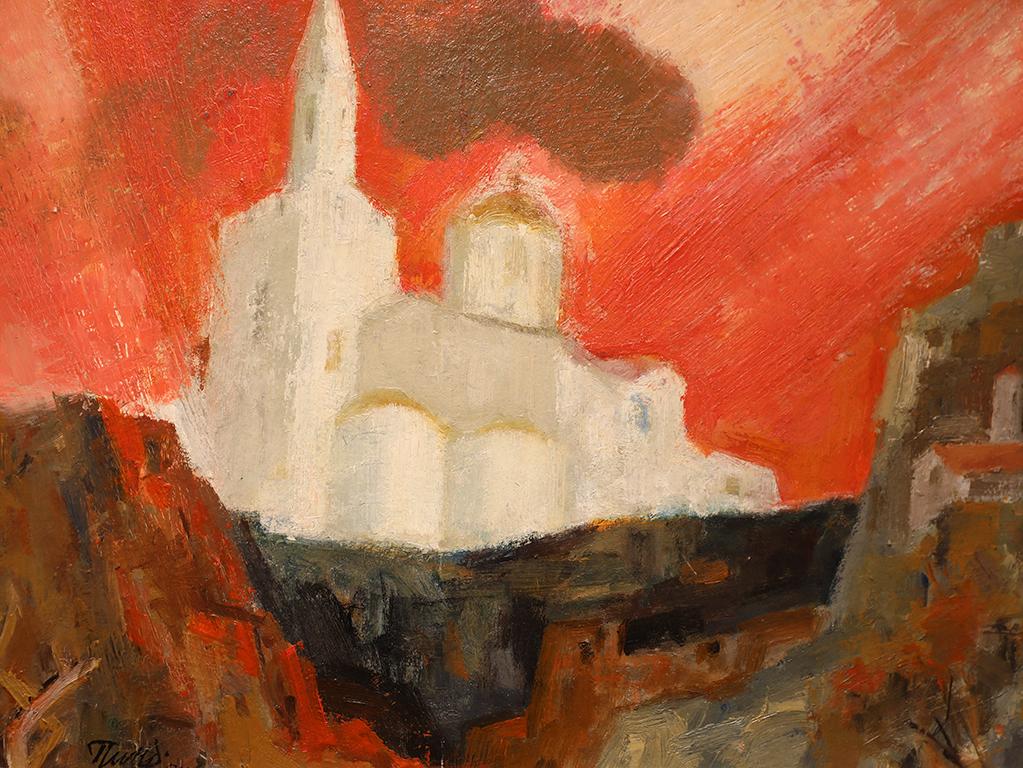 <p>Патриаршеската катедрала &quot;Свето Възнесение Господне&quot; на хълма Царевец в Търново</p>