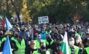 Полицаите излязоха на протест и на професионалния си празник - 8 ноември