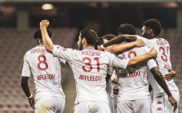 Монако се настани в четворката след драматична победа над Монпелие