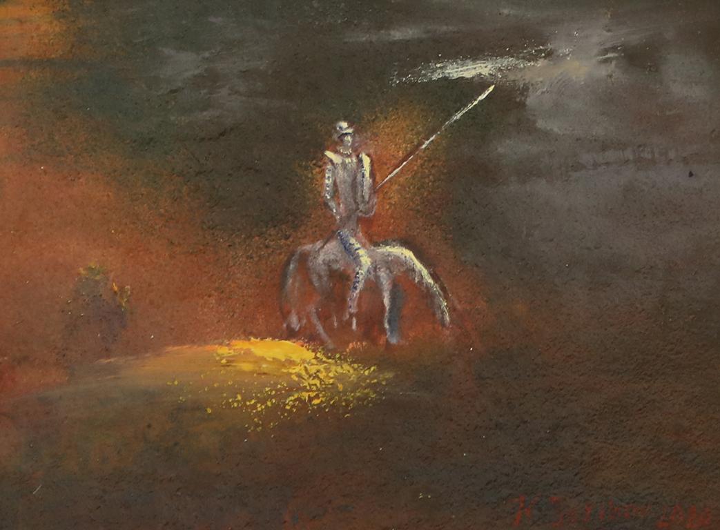 <p>Философа, 1970 г, маслени бои, платно</p>