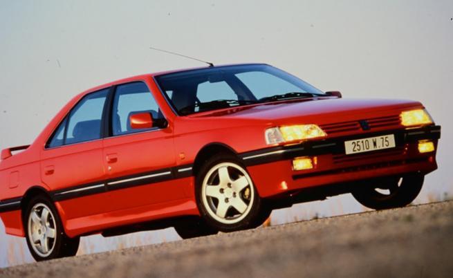 Студени досиета: 405 T16, предшественикът на най-мощното серийно Peugeot