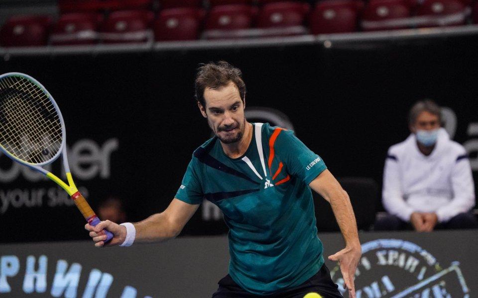 Френският тенисист Ришар Гаске постигна победа номер 550 в професионалната