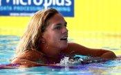 Плувкиня зарадва феновете си