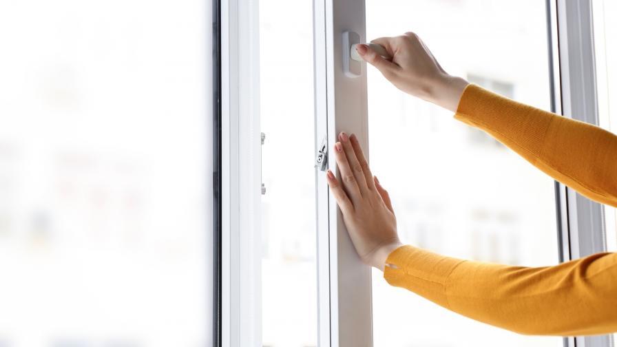 затваряне прозорец
