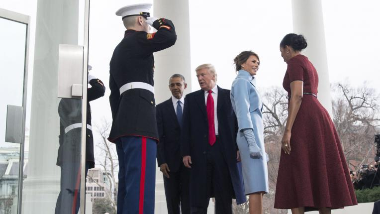Общите моменти на Мишел Обама и Мелания Тръмп