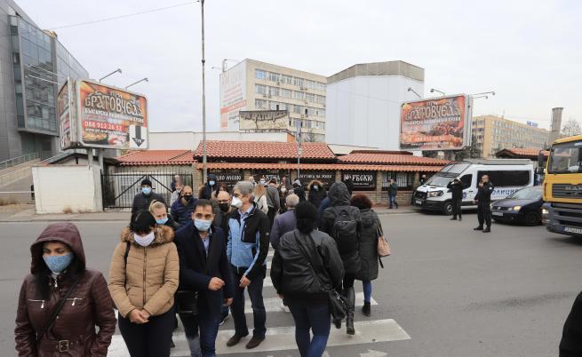 Софийски фирми се вдигнаха на протест срещу ЧЕЗ и КЕВР