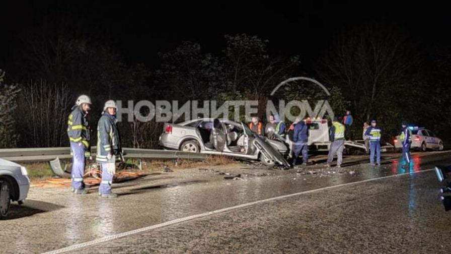 Тежка катастрофа затвори пътя София - Варна, жертва