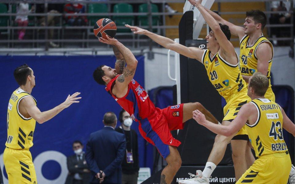 Баскетболист на ЦСКА Москва с поредна награда в Евролигата
