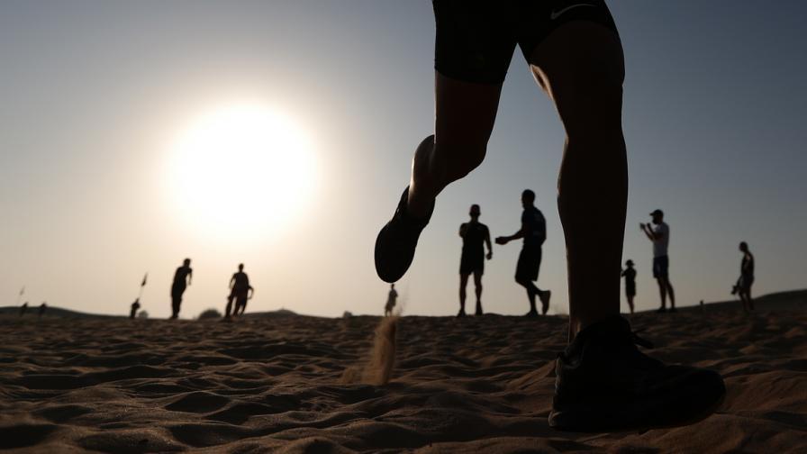 Надпревара през пясъчните дюни