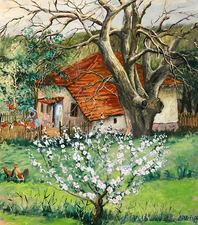 <p>Пролет, маслени бои, платно</p>