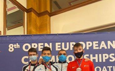 България взе 3 златни и общо 12 медала от европейското клубно по таекуондо