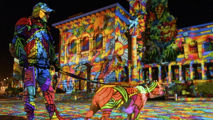 Фестивал на светлината в Лозана