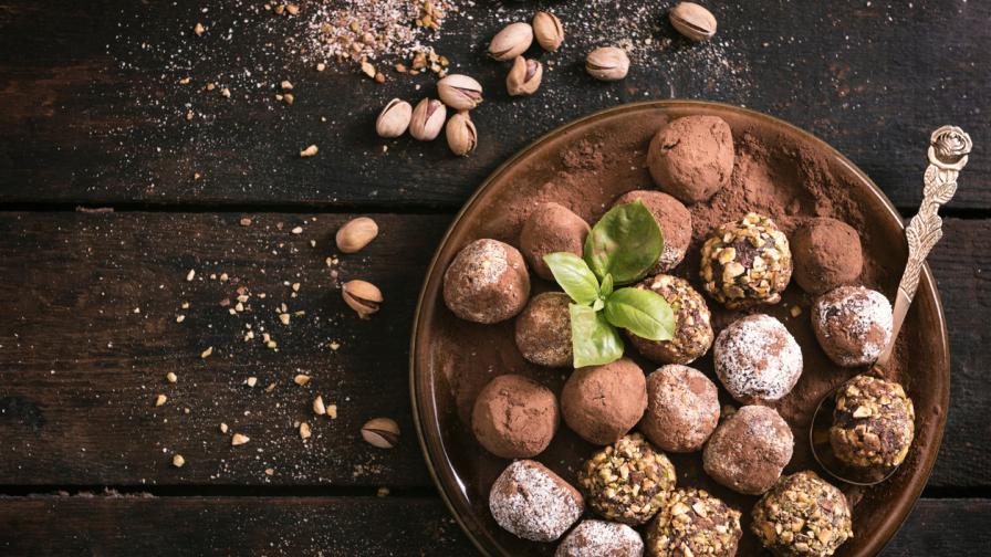 Как да приготвите неустоими шоколадови трюфели