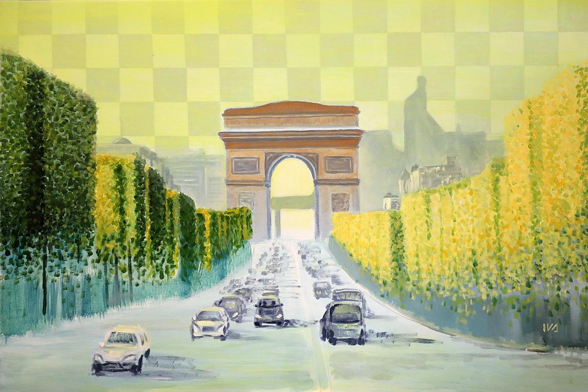 <p>Иванна Шмелева, &bdquo;Триумфалната арка, Париж, Франция&rdquo;</p>