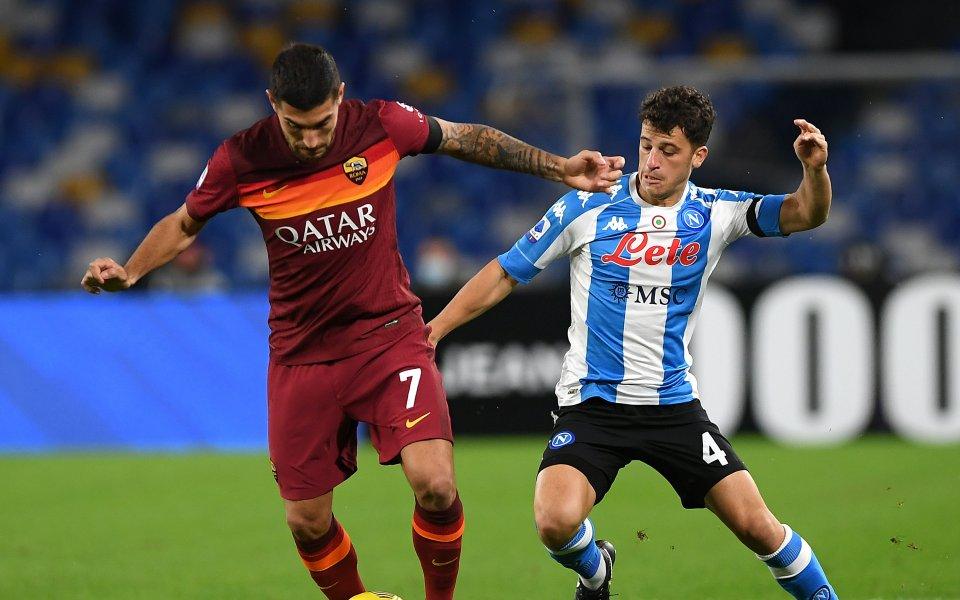 Рома посреща Наполи в мач от 28-ия кръг в Серия