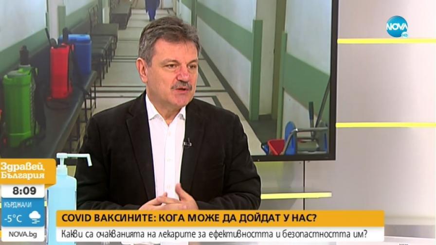 Пулмологът д-р Александър Симидчиев