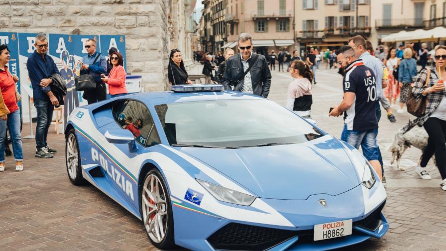 Да, това са полицейски коли. Ще се изненадате