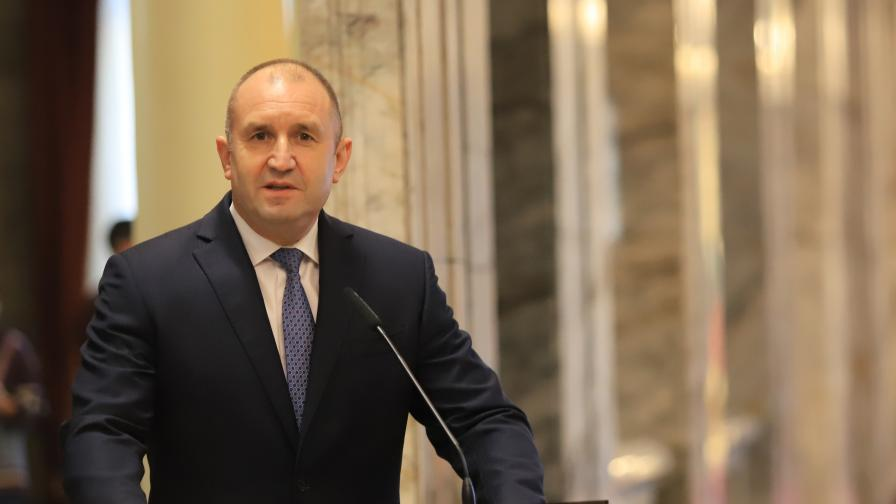 Радев: Не след дълго ще имаме правителство, работещо в интерес на гражданите